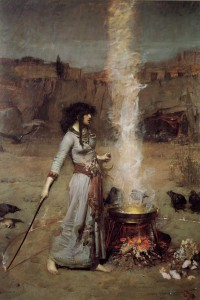 'Magic Circle' by John  William Waterhouse