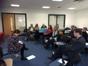 The Myth Studies Centre Reading Group at Essex University discussing Babayaga