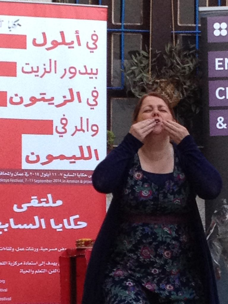 fairytale in jordan sally-pomme clayton, storytelling with asylum seekers and refugees