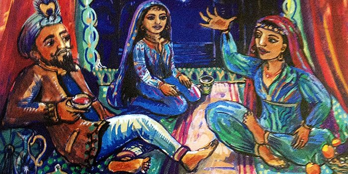 Sheherazade and her sister